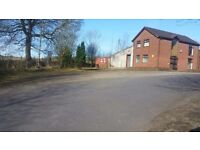 To let Offices workshop and storage containers
