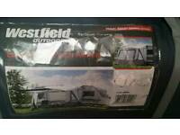 Westfield outdoor by quest easy air 350 inflatable caravan porch awning