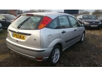 2004 FORD FOCUS 1.8 PETROL , , STARTS AND DRIVES. CHEAP CAR. SPARES AND REPAIRS