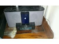 Ipod and Sony Dream Machine dock