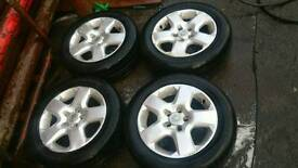 "16"" vauxhall wheels"