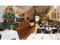 Commis chef needed for local Italian restaurant - Stepney Green