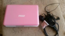 NETBOOK PINK ..............................DOCKING/FAKENHAM