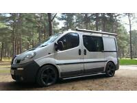 Vivaro Campervan or swap / part-ex for Landrover 4x4
