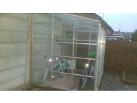 Lean to (3 sided) greenhouse