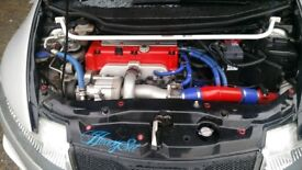 Honda Civic Type R Supercharged 390BHP modified customised showcar