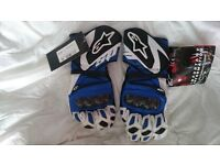 Motorcycle gloves - Alpinestars SP-1 size XL new and unused