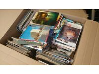 Bulk Lot: Hundreds of Vintage Postcards & Magazines