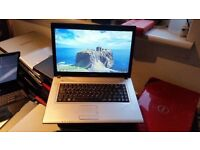 Samsung r519 windows 7 3g memory 500 g hard drive webcam wifi dvd drive comes with charger