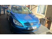 Peugeot 307s 1,4. petrol £550 OVNO quick sale
