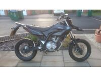 Yamaha wr125x . 61 plate less than 10,000 miles on clock. Very clean and runs spot on .