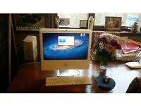 "iMac 20"" 2.16Ghz dual core 4Gb RAM Solid State Drive + Logic Studio 9 installed"