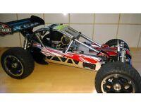 radio controlled nitro buggy .Swaps. READ AD
