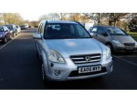 2005 Honda Cr-V 2.0 i-VTEC Executive Station Wagon 5dr Automatic 1 Fomer Keeper @07725982426@