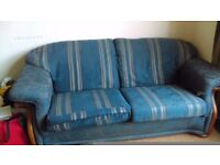 Free 2 seater sofa- collect from kelvingrove area