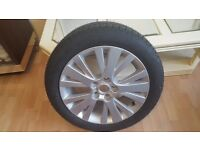 Brand New Mazda 6 Alloy wheel Brand New with (Goodyear Eagle Nct 5 tyre ) 215/50/17