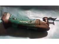 Dtm50 makita multi tool with 3 amp battery ring for more information