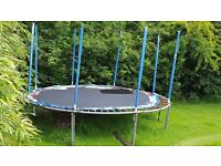 Large Trampoline 16 foot approx. Good condition. Must collect and dismantle.