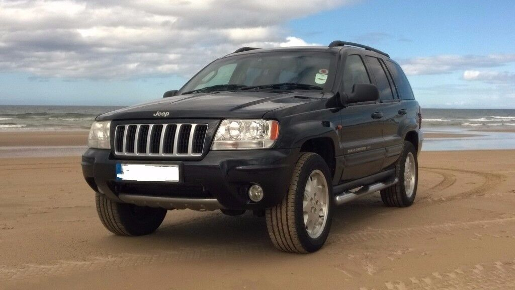 Extremely rare Grand Cherokee 'Stealth'. Based on G/Cherokee Limited