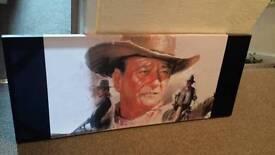 John Wayne canvases