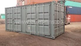 Multi Compartment Shipping container / Shipping container with side doors – 20ft