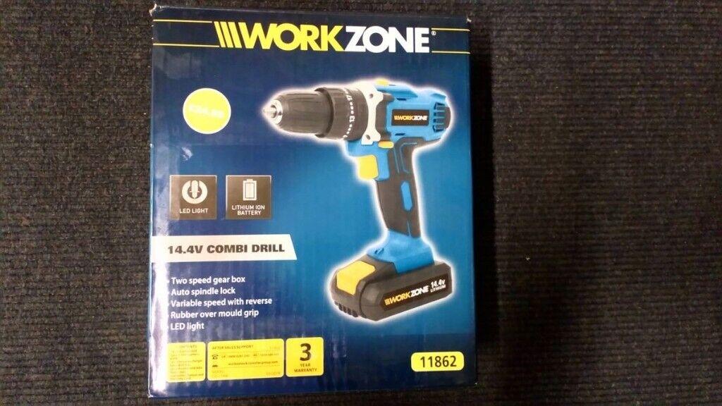 Workzone 14 4V Combi Drill | in Preston, Lancashire | Gumtree