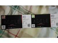 Adele tickets x 2 for the 1st of July at WEMBLEY