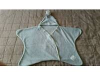 Stylish grey star blanket - upto 3 months - Tuppence and crumble