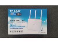 TP-Link AC1900 Wireless Dual Band Gigabit VDSL2 Modem Router