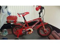 Boys Red Fire Chief Bike. Buyer to collect.
