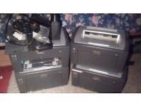 Lexmark E120 laser printer x 4