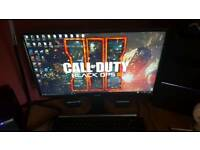 "Samsung 24"" led monitor, excellent condition"