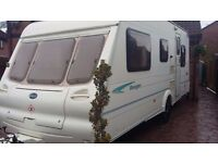 bailey ranger 500/5 lightweight 5 berth caravan 2003