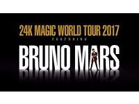 BRUNO MARS STANDING TICKETS x 5 - BIRMINGHAM BARCLAYCARD ARENA!! SOLD OUT!!