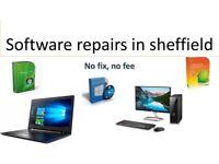 At home computer repair - Sheffield