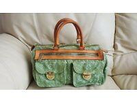 Amazing authentic bag vintage green monogram - LOUIS VUITTON !