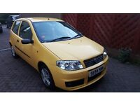 2005 Fiat Punto Active Sport years MOT