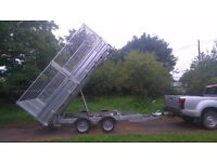 2017 Indespension 12x6 tipping trailer *NO VAT* loads of extras