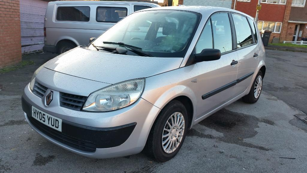 Renault Scenic 2005 Interior Renault Scenic 2005 05 Plate
