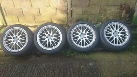 Audi rims BBS Speedline 19' with tyres