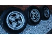 Ford Escort RS Mk 1/2 Alloys x3