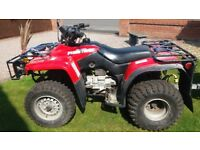 Quad bike road legal one owner from new £1500