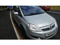 Vauxhall Zafira 1.6 Active 59 Plate 7-Seater £1,800 ono