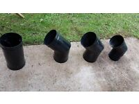 Vitmaster Flue Pipe Sections for Wood Burning Stove
