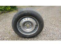 VW Transporter 16inch Steel Rim Spare Wheel