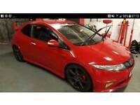 Honda Civic GT FN2 swaps focus st,vxr, Audi a6, bmw high spec the better