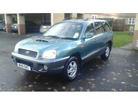 used santa fe drives great 11 months mot