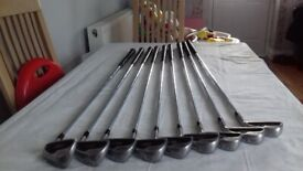 Set of Browning mirage golf clubs