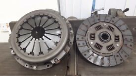 Clutch plate and housing for series 3 landrover 1983