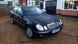 Mercedes E270 CDI Elegance Auto - 2 owners, low mileage 81,000
